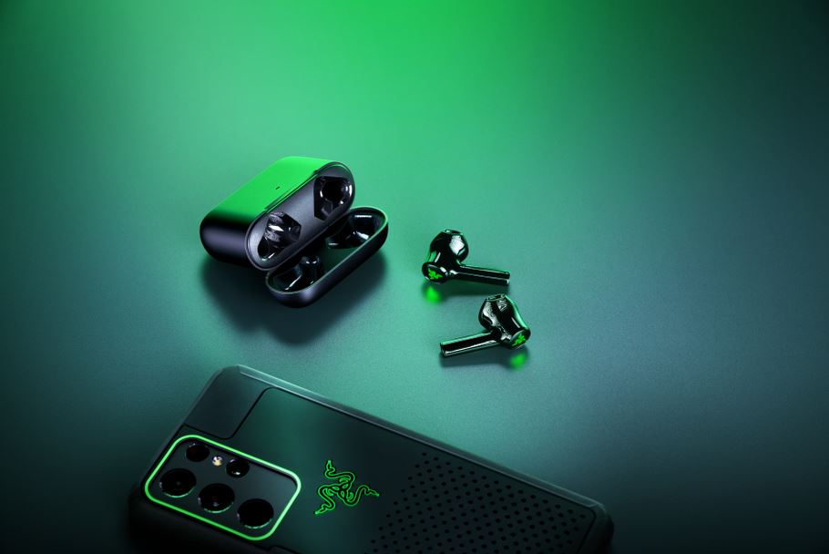 New Razer Hammerhead True Wireless X earbuds illuminates green LED touch controls for a flash of style - Alvinology