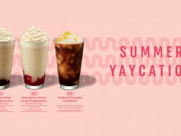Starbucks New Mouthwatering Beverages - Have a refreshing summer with the all-new Pineapple Cold Brew and Choux Cream Frappuccino blended - Alvinology
