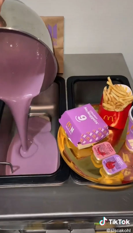 Some BTS ARMY mad that non-fans buy the BTS meal, while one fan blends nuggets and fries into ice cream - Alvinology