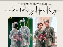 Was PA racist when they used a Malay couple's wedding photo for Hari Raya decor? - Alvinology
