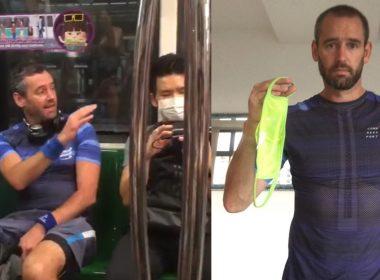 """""""I will never wear a mask"""": British man tells fellow MRT passengers; facing 6 months' jail - Alvinology"""