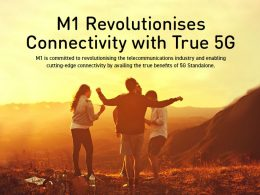 M1 customers can now experience True 5G Standalone simply by adding on a booster pack with their existing mobile plan - Alvinology