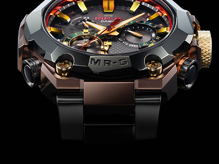 G-SHOCK MR-G Hana Basara – this limited-edition watch is crafted like a true Japanese Samurai Accessory – 4x harder than pure titanium - Alvinology