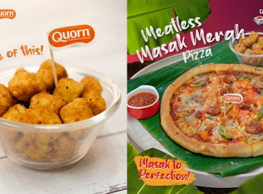 Canadian 2 For 1 Pizza is giving away FREE Chick-less bites alongside the new Meatless Masak Merah pizza launch! - Alvinology