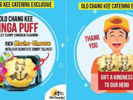 Old Chang Kee introduces Singa Puffs which you can purchase to donate to your preferred Frontline Heroes – free delivery! - Alvinology