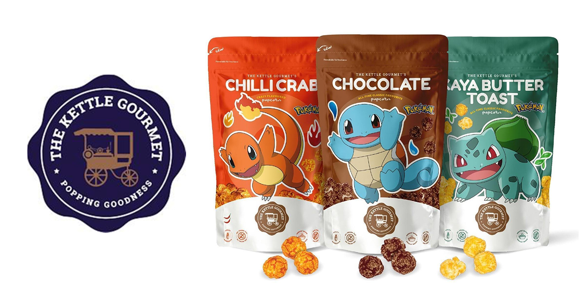The Kettle Gourmet launches Pokémon popcorn -special collector's card in every set! - Alvinology