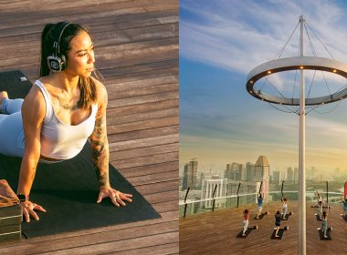 Elevate your Yoga Practice to new heights at the rooftop of Marina Bay Sands! Here's how to sign up - - Alvinology