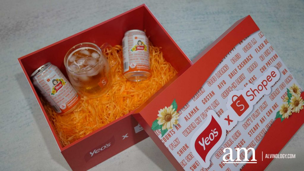 [PROMOTION] limited edition Shopee x Yeo's Chrysanthemum Tea - specially for Singapore's National Day - Alvinology