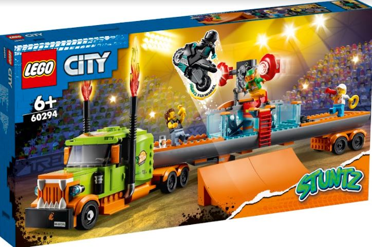 LEGO City Stuntz introduces 6 New sets featuring a sensational new action-packed play experience - Alvinology
