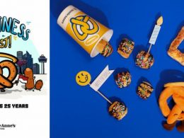 Auntie Anne's Celebrates 25 Years - say hello to limited-time flavours, locally designed merchandise, and a chance to learn how to bake the iconic Soft Pretzels! - Alvinology
