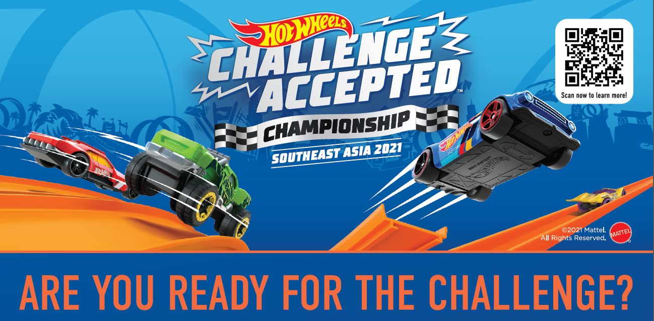 """Hot Wheels """"Challenge Accepted"""" Championship 2021 - create a video with your Hot Wheels doing mind-blowing stunts to win prizes! - Alvinology"""
