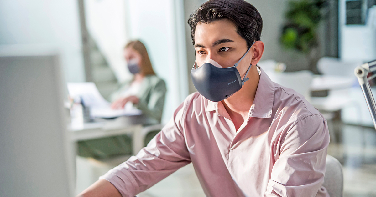 LG upgrades its Puricare Wearable Air Purifier boasting Smarter Performance, Lighter Weight, and Stylish, New Design - Alvinology