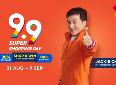 Jackie Chan throws some Kung Fu moves to kick off Shopee's 9.9 Super Shopping Day and biggest year-end festivals! - Alvinology