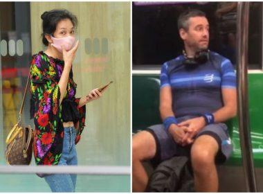 British anti-masker Benjamin Glynne sentenced to 6 weeks jail, woman causes trouble at hearing - Alvinology