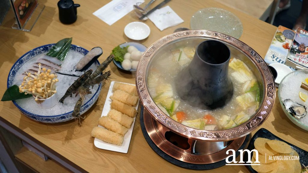 [Review] Tung Lok Seafood Restaurant at The Arena Country Club - Chinese-style seafood meets Japanese sushi and Sashimi Dishes - Alvinology