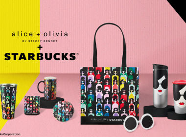 Starbucks X alice + olivia collection - chic designs fit for everyday occasions - Alvinology