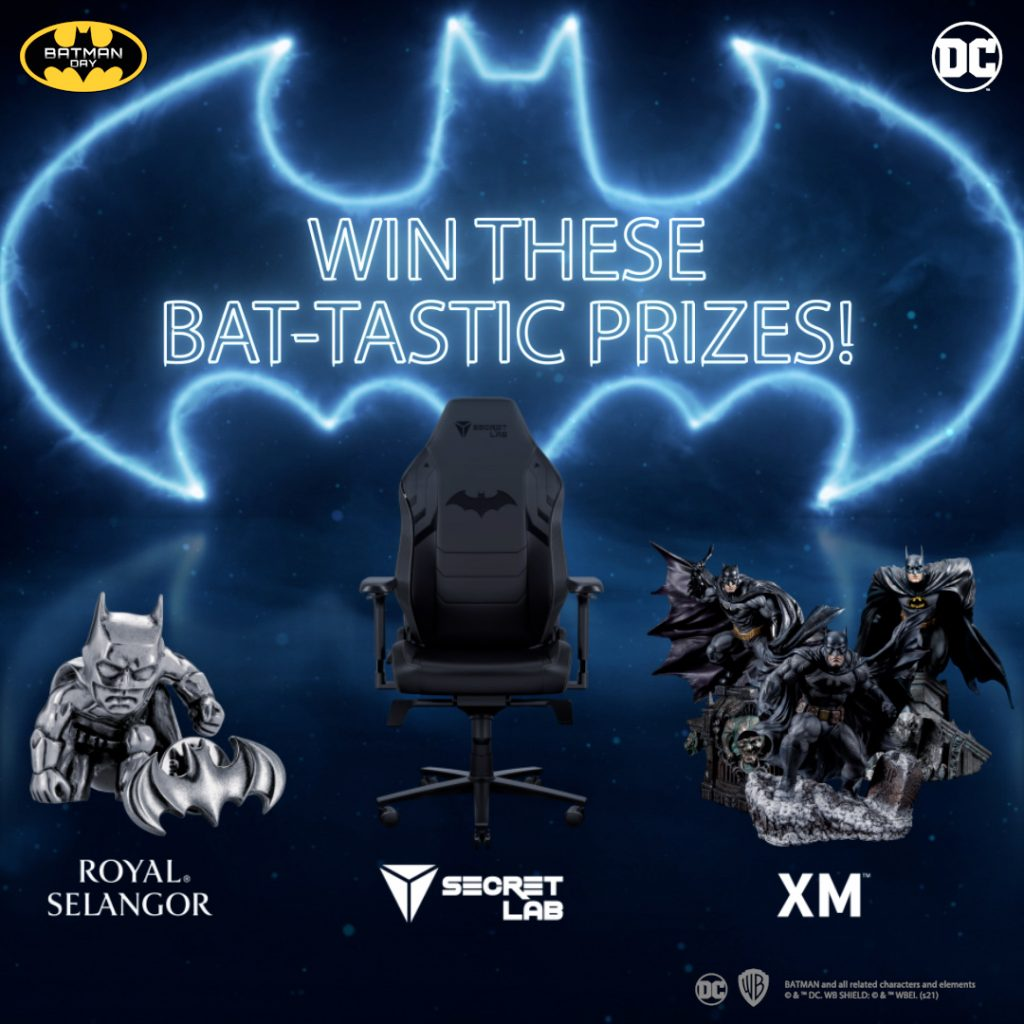 Attention All Batman Fans! Don't Miss out on Batman Day this 18 September and swoop in for some amazing giveaways and the latest Bat-tech App and merchandise! - Alvinology
