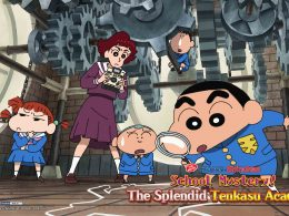 [Review] Crayon Shinchan the Movie: School Mystery! The Splendid Tenkasu Academy - Alvinology