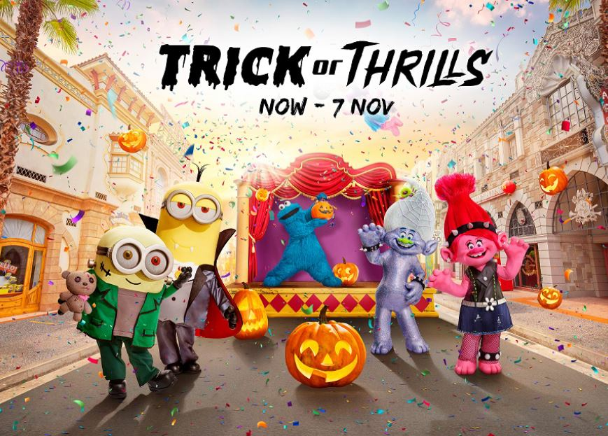 Universal Studios Singapore Halloween 2021 - enjoy a frighteningly fabulous Halloween-themed staycation and lots of boo-worthy photo opportunities for as low as SGD256++! - Alvinology