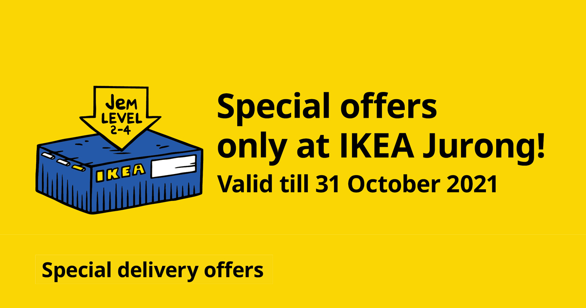 Enjoy up to $45 OFF or a FULL REBATE on your delivery fees at IKEA Jurong this October - Alvinology