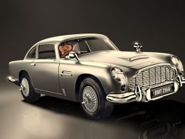 The James Bond Aston Martin DB5 – Goldfinger Edition is now available from PLAYMOBIL; features fighting gadgets from the original DB5 - Alvinology