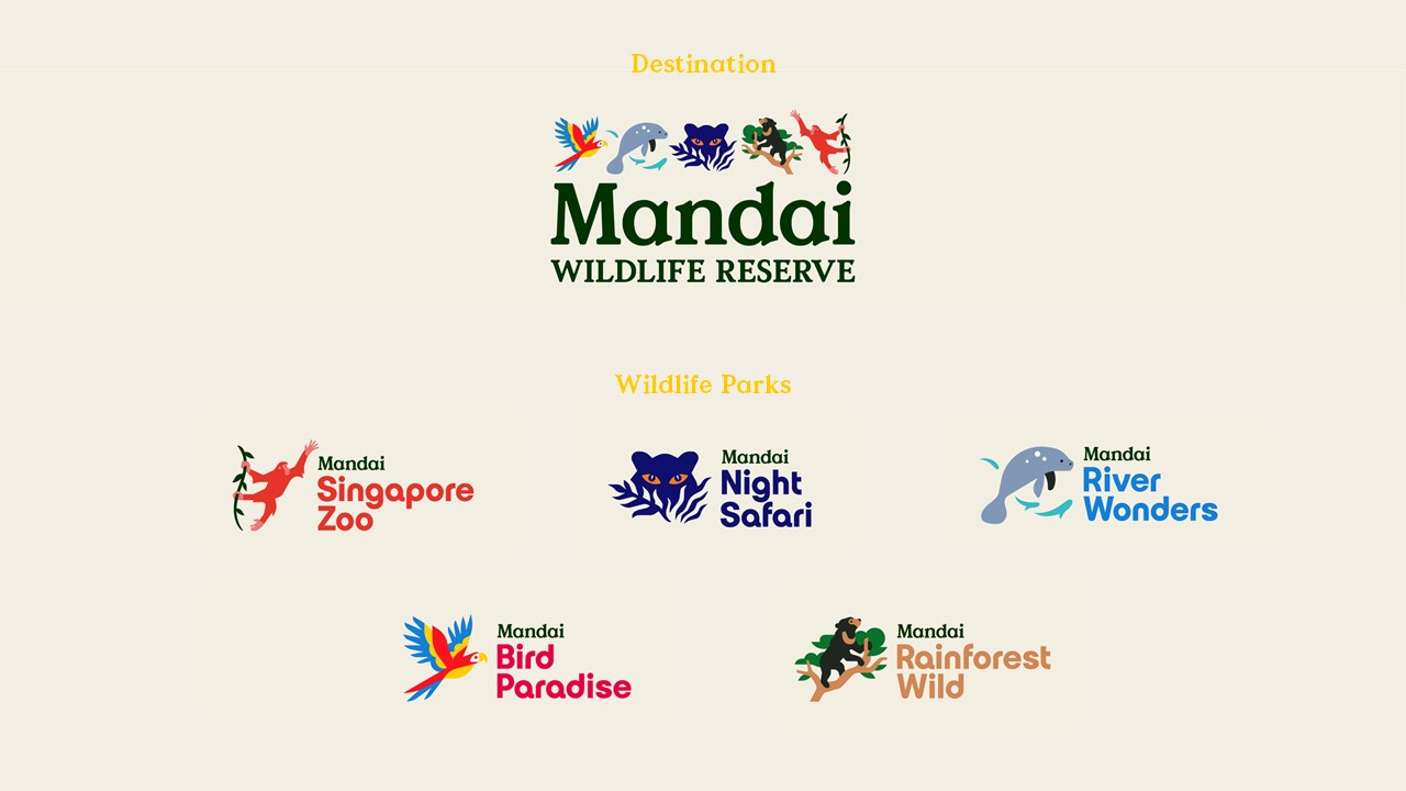 Singapore Wildlife Reserve is now under one brand - Mandai Wildlife Reserve, announces changes to visual identities - Alvinology