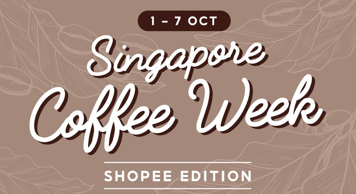 [PROMO] Singapore Coffee Week 2021 on Shopee - a weeklong digital event about coffee with special deals from 1-7 October - Alvinology