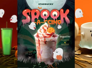 Checkout new Starbucks Spook-a-ccino Drink and Adorable Merch shaped like Cats and Ghosts for this Halloween - Alvinology